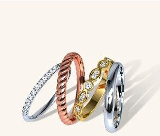Argollas de matrimonio en oro